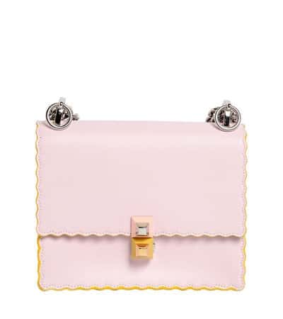 786f465542 Fendi Light Pink Scalloped Kan I Small Bag