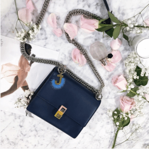 Fendi Midnight-blue Kan I Small Bag 2