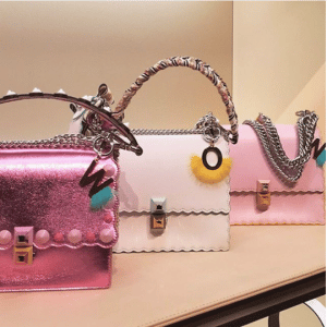 Fendi Pink Kan I Small Bags