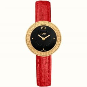 Fendi Red Fendi My Way Watch