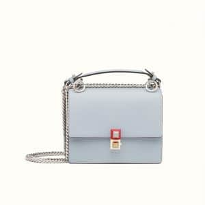 Fendi Slate Grey Kan I Small Bag