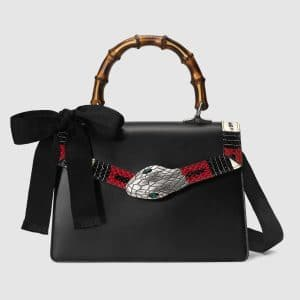 Gucci Black Small Lilith Top Handle Bag