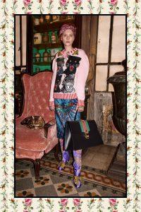 Gucci Black Sylvie Oversized Top Handle Bag - Pre-Fall 2017