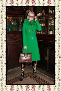Gucci Brown Crocodile Sylvie Top Handle Bag - Pre-Fall 2017