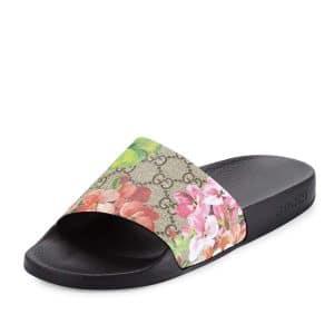 Gucci GG Blooms Supreme Slide Sandal 1