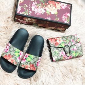 Gucci GG Blooms Supreme Slide Sandal 2