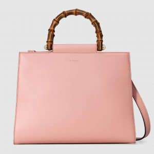 Gucci Light Pink Medium Nymphaea Top Handle Bag