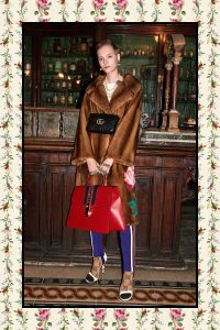 Gucci Red Sylvie Oversized Top Handle Bag - Pre-Fall 2017