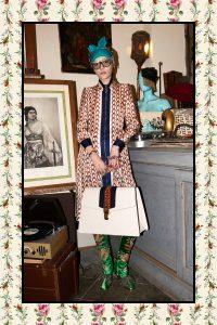 Gucci White Oversized Sylvie Bag - Pre-Fall 2017