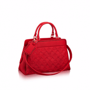 Louis Vuitton Cherry Monogram Empreinte Vosges MM Bag