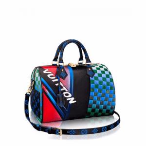Louis Vuitton Race Print Speedy Bandouliere 30 Bag 1