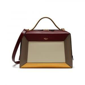Mulberry Crimson/Chalk/Clay/Sunflower Smooth Calf Hopton Bag