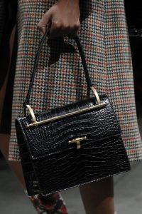 Prada Black Crocodile Top Handle Bag - Fall 2017