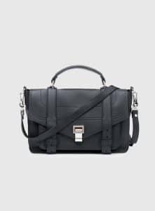 Proenza Schouler Black PS1+ Medium Bag