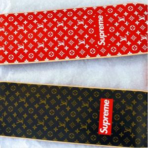 Supreme x Louis Vuitton Monogram Skate Decks x Louis Vuitton Monogram Skateboards