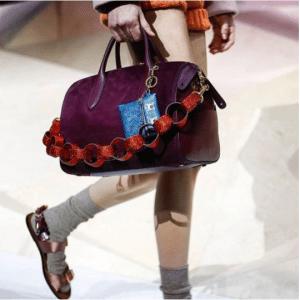 Anya Hindmarch Violet Paperchain Vere Barrel Bag 2 - Fall 2017