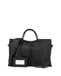 Balenciaga Black Blackout Small City Bag