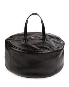 Balenciaga Black Large Air Hobo Top Handle Bag