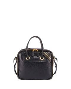 Balenciaga Black Small Blanket Square Bag
