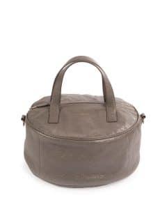 Balenciaga Gray Small Air Hobo Top Handle Bag