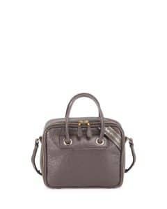 Balenciaga Gray Small Blanket Square Bag