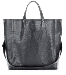 Balenciaga Gris Fossile Papier Snap Simple Tote Bag