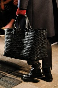 Bottega Veneta Black Intrecciato Cabat Bag - Fall 2017