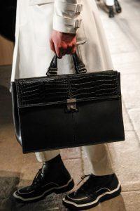 Bottega Veneta Black Leather/Crocodile Briefcase Bag 2 - Fall 2017