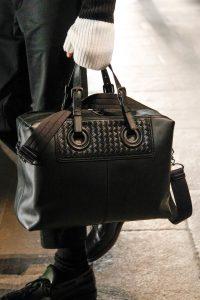 Bottega Veneta Black Top Handle Bag - Fall 2017