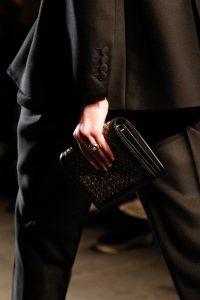 Bottega Veneta Black/Gold Small Clutch Bag - Fall 2017