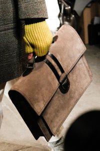 Bottega Veneta Brown Suede Briefcase Bag - Fall 2017