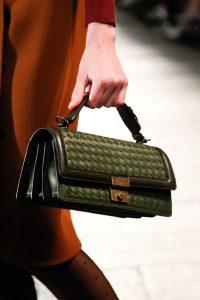 Bottega Veneta Green Intrecciato Top Handle Bag - Fall 2017