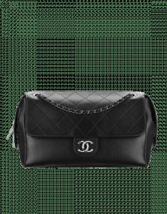 Chanel Black Magnetic Large Flap Bag