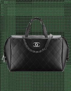 Chanel Black Magnetic Large Shopping Bag