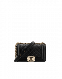Chanel Black Quilted Small Boy Chanel Flap Bag