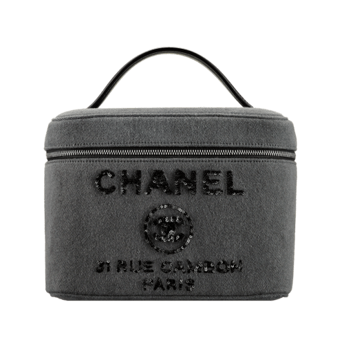 Chanel Deauville Vanity Pouch Bag