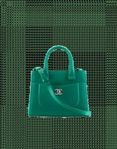 Chanel Green Neo Executive Mini Shopping Bag