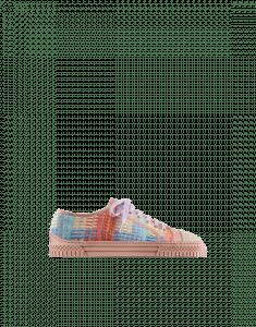 Chanel Multicolor/Beige Tweed Sneakers