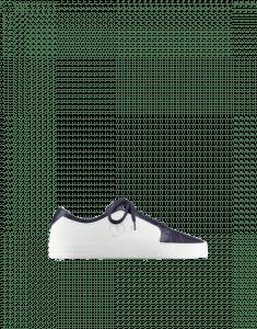Chanel Navy Blue/White Calfskin Sneakers