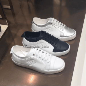 Chanel White Sneakers 2