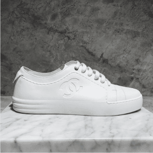 Chanel White Sneakers 3