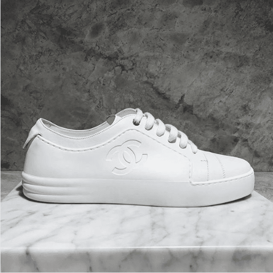 Coco Chanel Tennis Shoes