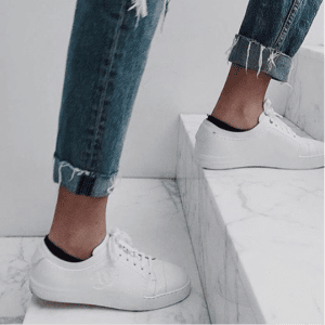 Chanel White Sneakers 4