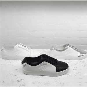Chanel White Sneakers 5
