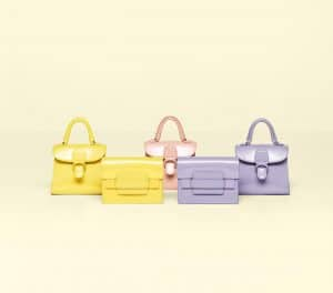 Delvaux Citron / Nude / Lilas Vernis Gel Brillant Charms and Citron : Lilas Vernis Gel Madame Charms