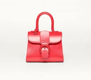 Delvaux Corail Vernis Gel Brillant Mini Bag
