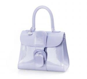 Delvaux Lilas Vernis Gel Brillant Mini Bag
