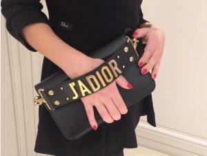 Dior Black J'adior Flap Bag