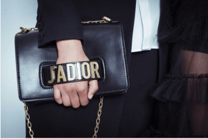 Dior Black J'adior Flap Bag with Chain 2