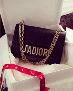 Dior Black J'adior Flap Bag with Chain 4